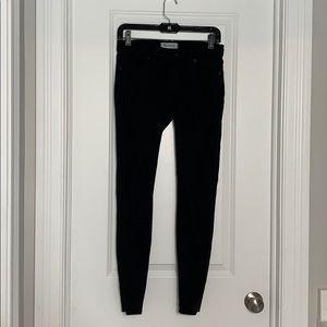 Madewell Skinny Black Pants